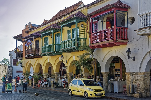 Colombia Cartagena City Colonial