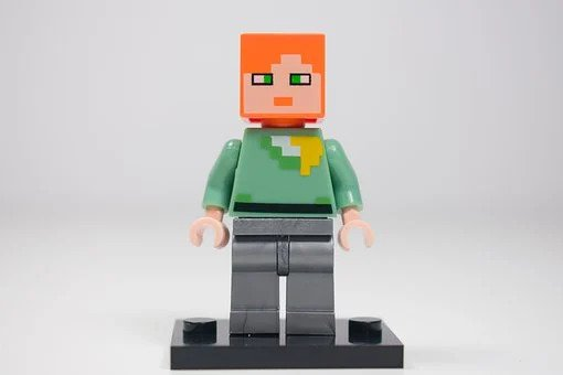 Lego, Minifiguka, Lego Minecraft, Pads