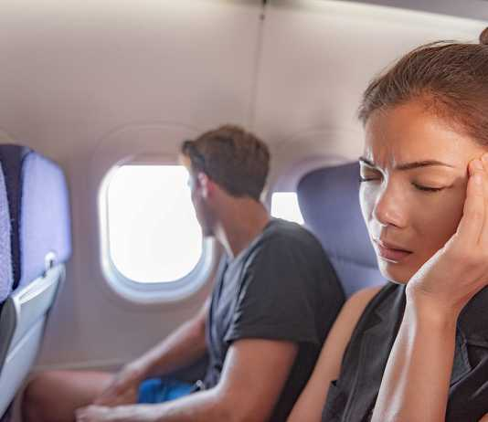 What to take before flight to avoid getting sick