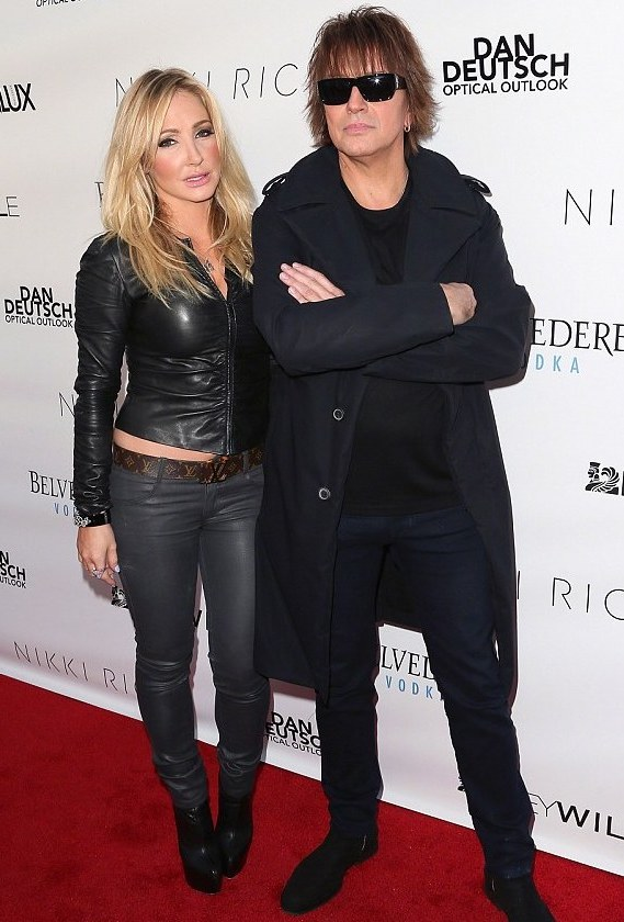 Ex-lovers Richie Sambora and Nikki Lund (AKA) Nikki-Rich