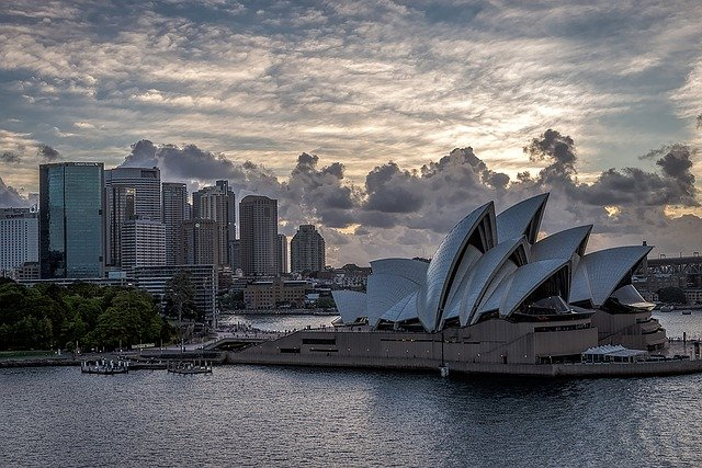 Sydney opera house and residential developments for the economy.