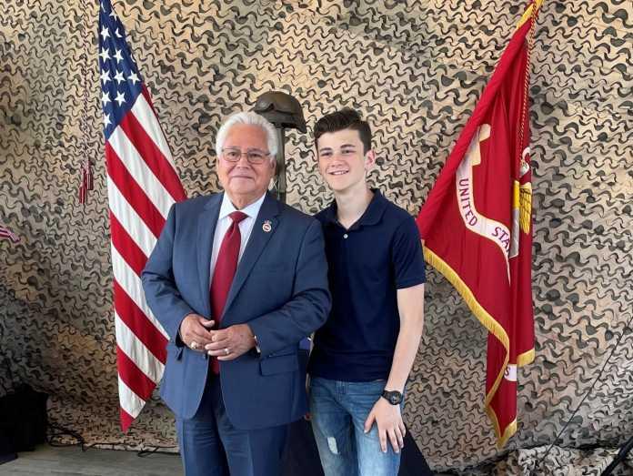 Senator Bob Archuleta and Alexander James Rodriguez