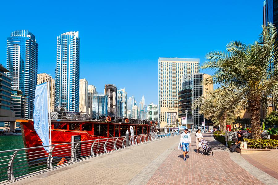 Dubai city life