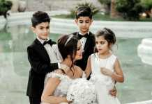 Getting married with your kids by your side- delegate to be present