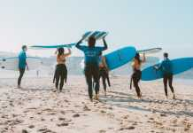 Health benefits of going to the beach