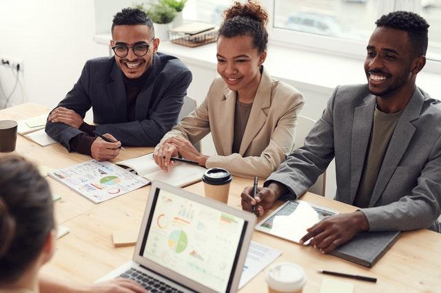 A team of entrepreneurs using sandbox to succeed.