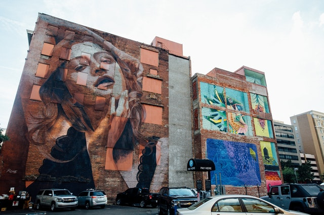 A top quality mural by a Sydney mural artist.