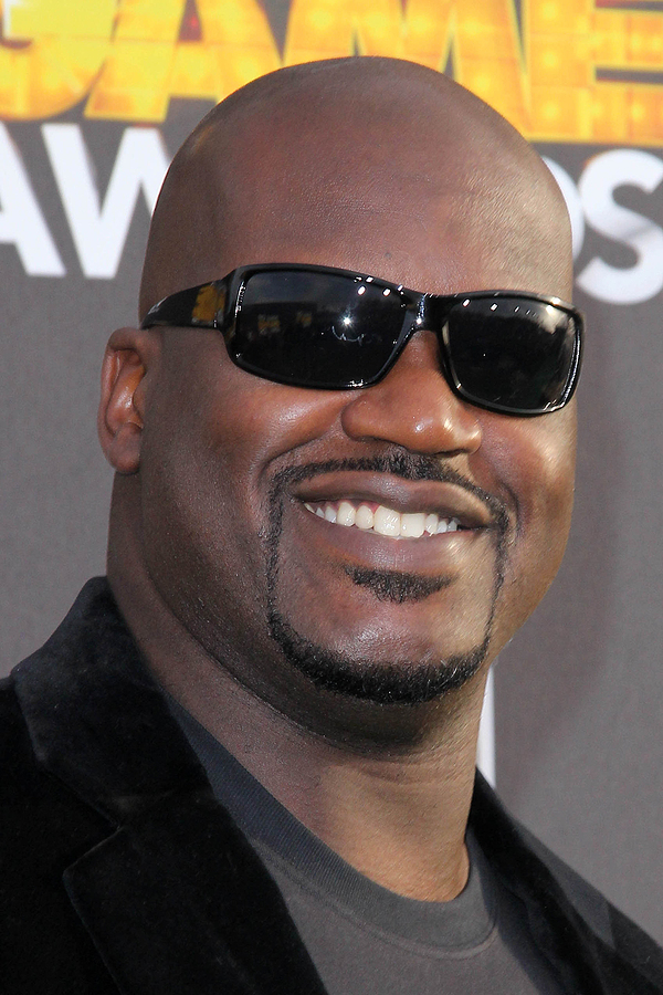 Basketball star Shaquille O'Neal