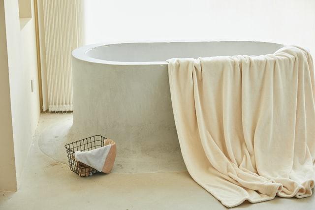 Take a long bubble bath