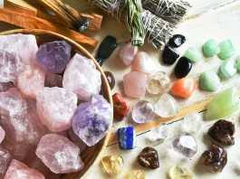 Using healing crystals for improving our well-being