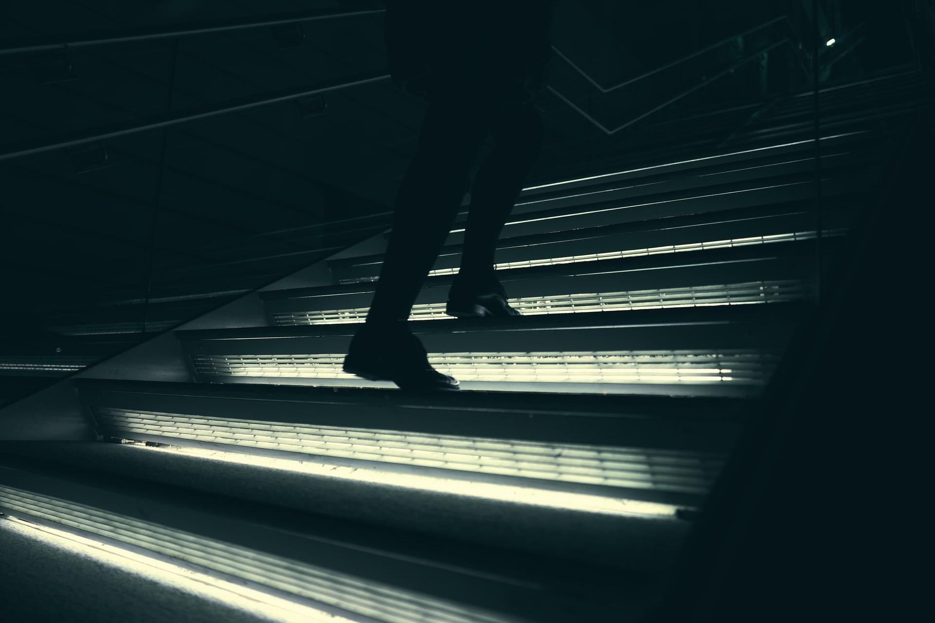Lighting-up stairways
