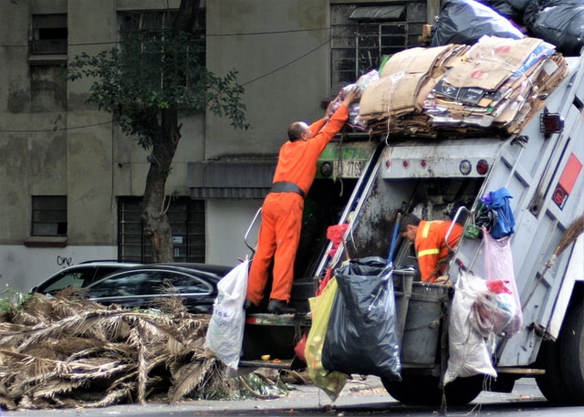 Rubbish removal benefits environment