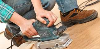 tools for professional quality floor sanding