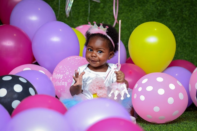 Birthday party online kids