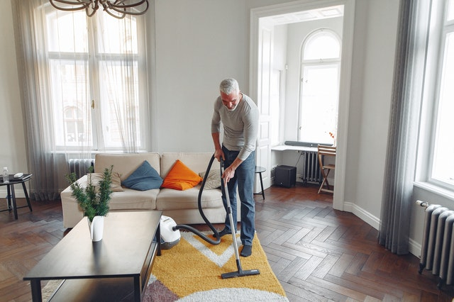 Tips for cleaning the carpet yourself