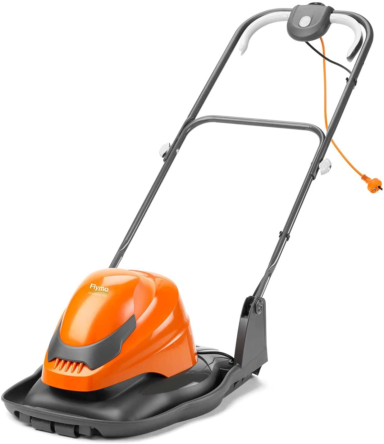 hovering electric lawn mower